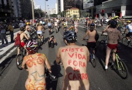 Brazil Naked Bikers