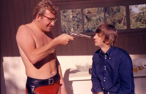 Mal Evans e Ringo Star